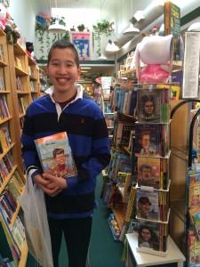 Jake at Bookstore