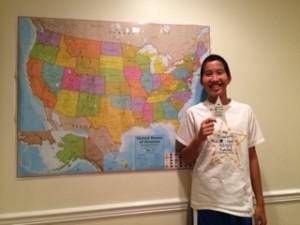 Jake & Map 9-20-15